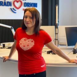 Dámské tričko s potiskem srdce